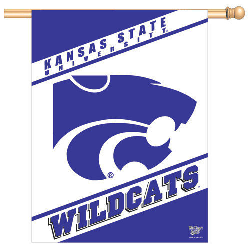 K State Wildcats Banner Flag