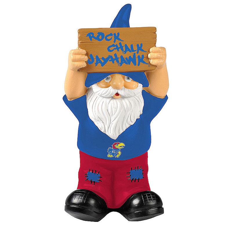Kansas Jayhawks Garden Gnome GN8NCSLOSIGNKA