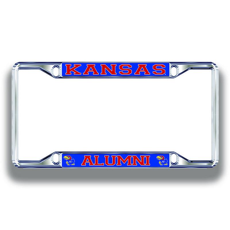 Kansas Jayhawks License Plate Frame Alumni 19269