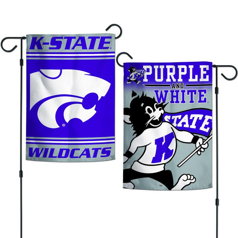"""Kansas State Wildcats 12.5""""x18"""" Garden Flag"""