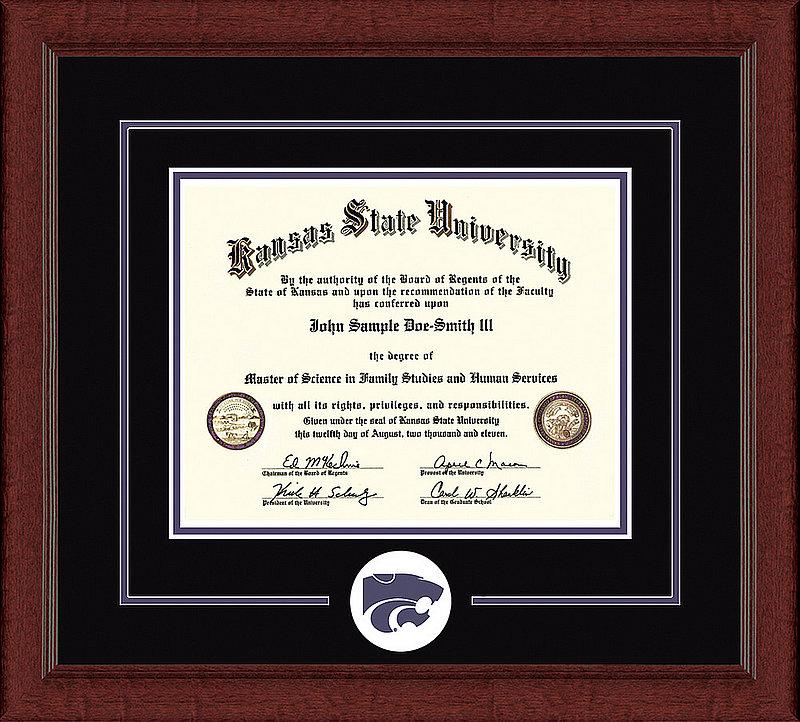 Kansas State Wildcats Diploma Frame 304172