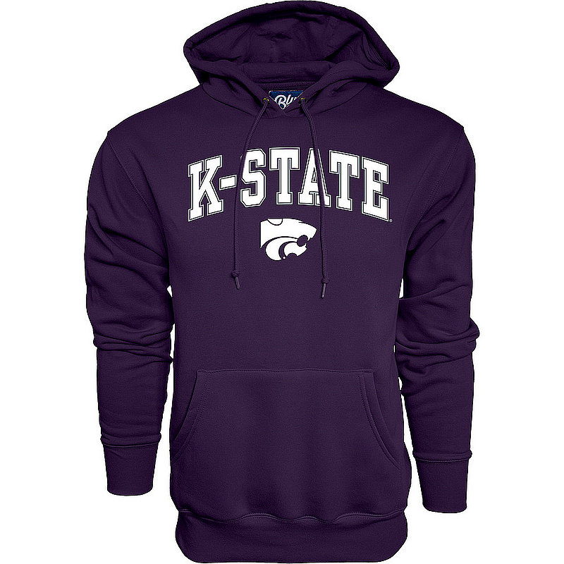 Kansas State Wildcats Hooded Sweatshirt Varsity Purple APC02961881*