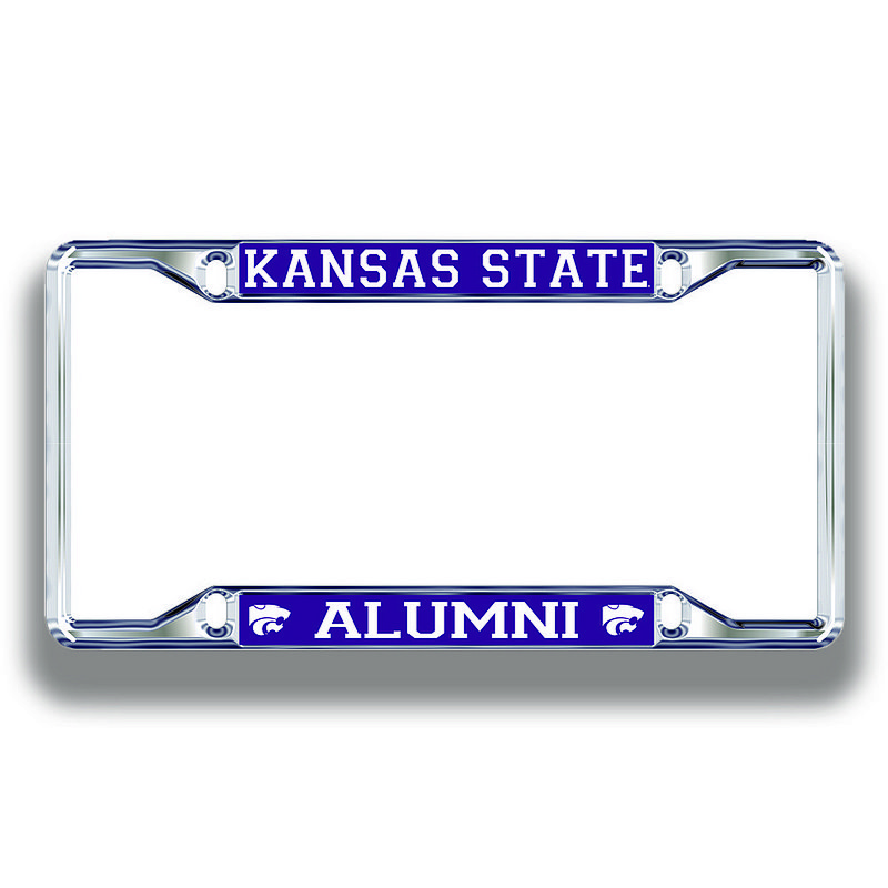 Kansas State Wildcats License Plate Frame Alumni 21259