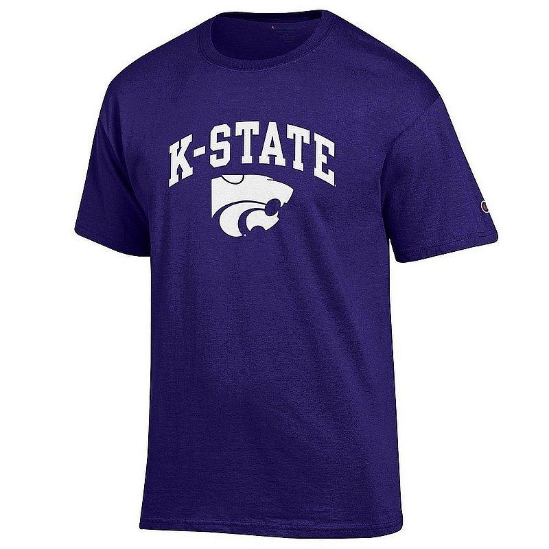 Kansas State Wildcats TShirt Varsity Purple Arch Over APC02961881*
