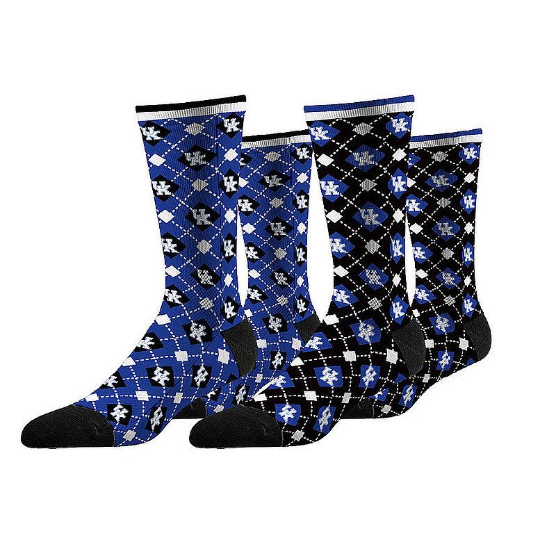 Kentucky Wildcats Argyle Sock 2-Pack