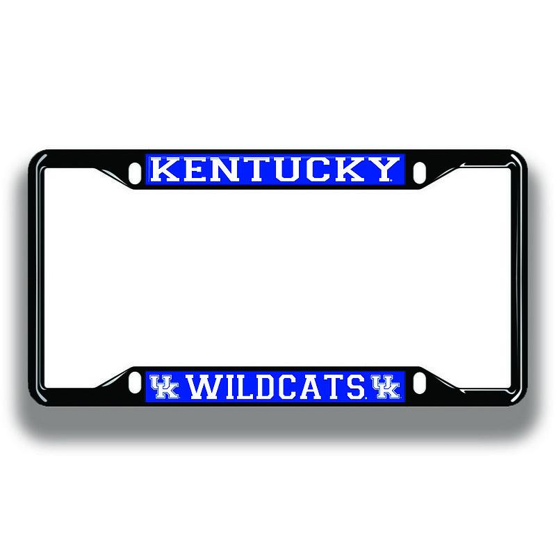 Kentucky Wildcats License Plate Frame Black 20933