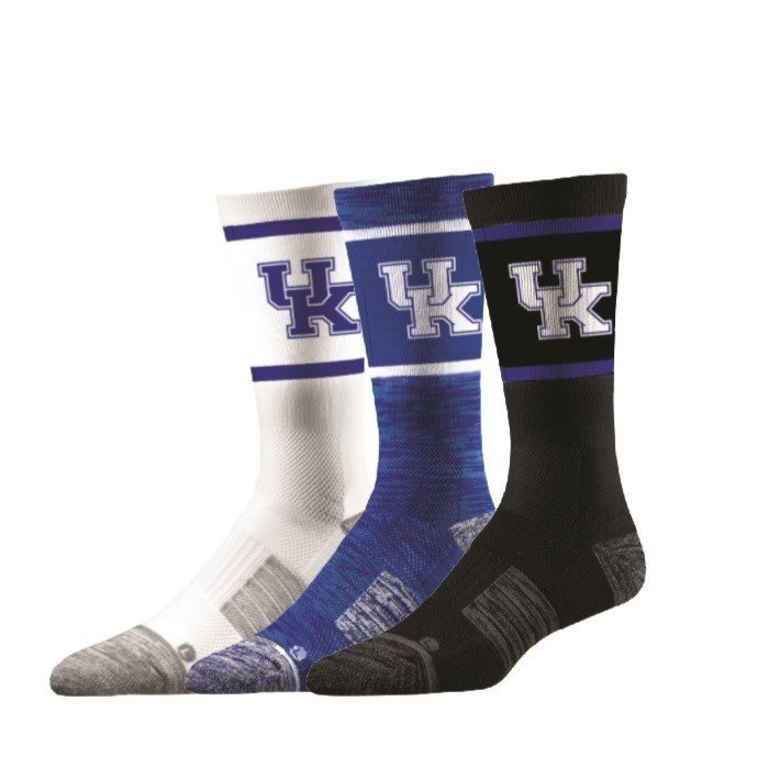 Kentucky Wildcats Socks 3-Pack