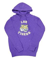 Lola LSU Tigers Ladies Hooded Sweatshirt Purple (Lola)