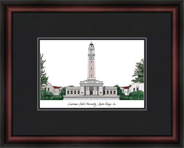 Louisiana State University Academic Lithograph DSCI-la999a