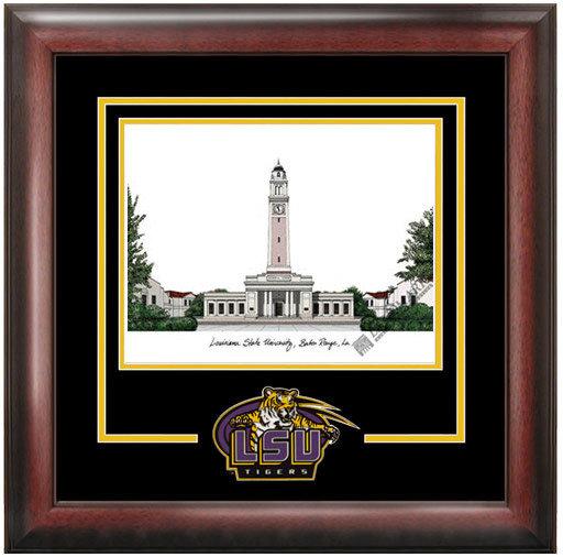 Louisiana State University Spirit Lithograph DSCI-la999sl