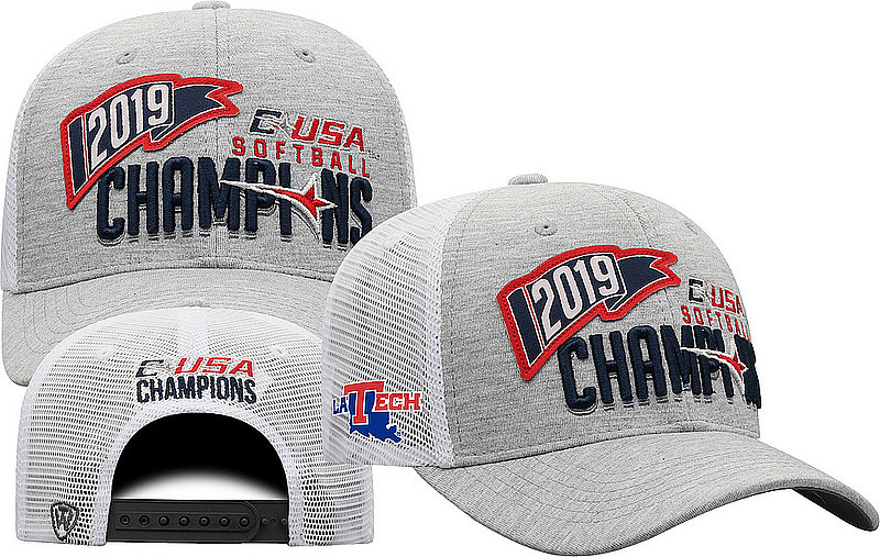 Louisiana Tech Bulldogs C-USA Softball Champs Hat 2019 Locker Room CUSAW-SFBLC-19C-TA