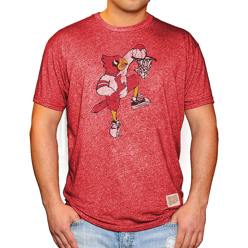 Louisville Cardinals Retro Tshirt Red CLOU100A-_RB124M_MTDR