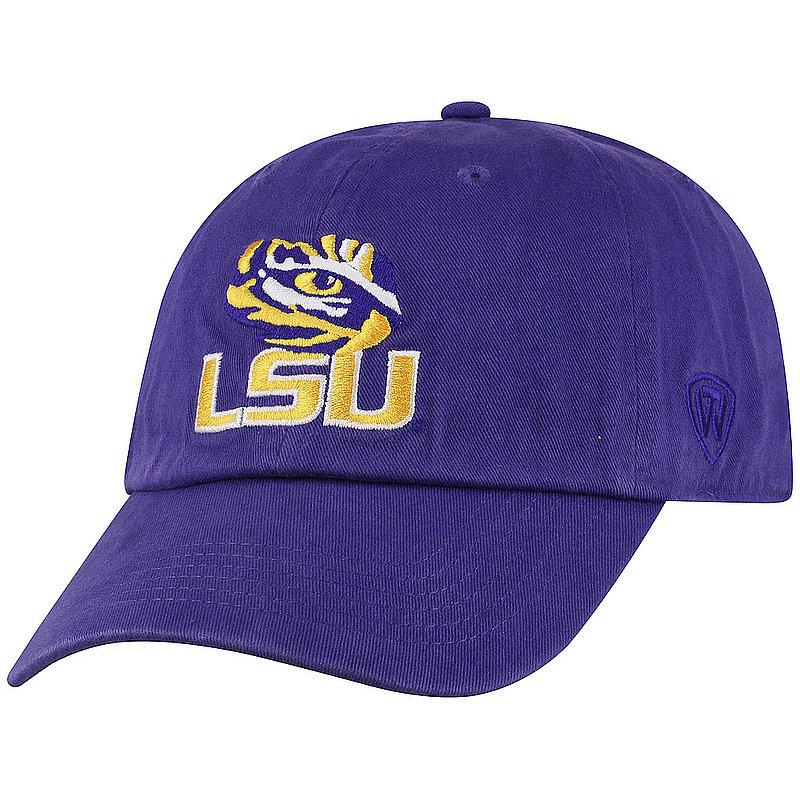 LSU Tigers Hat Icon Purple CHAMP-LAST-ADJ-TMC2