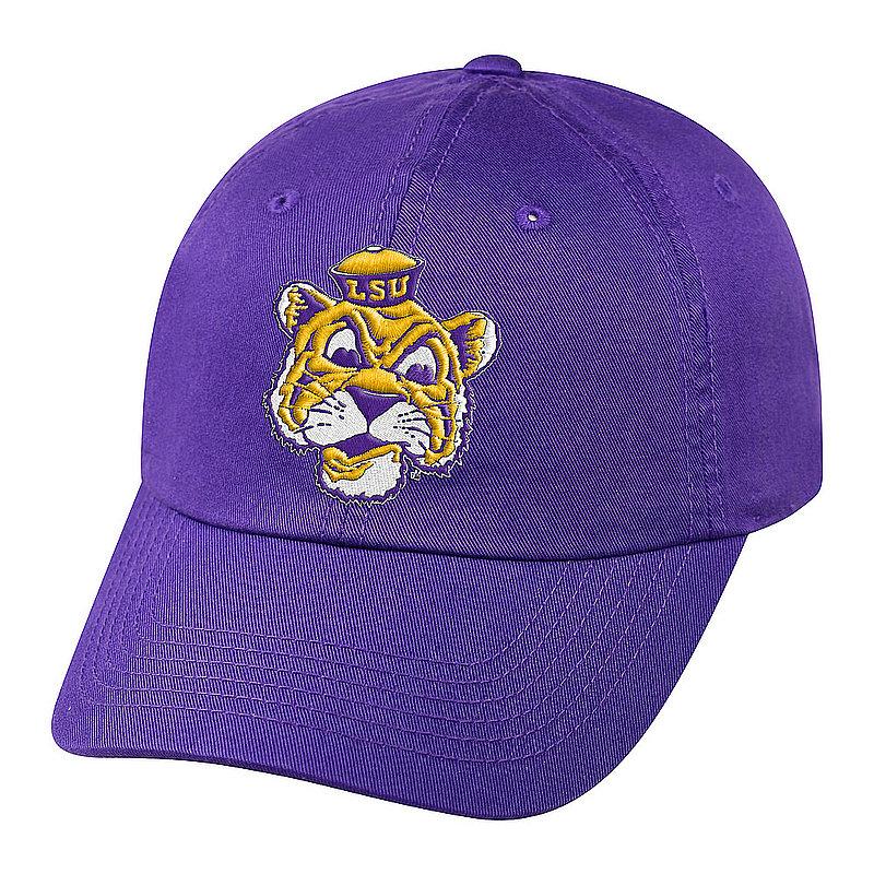 LSU Tigers Hat Icon Purple CHAMP-LAST-ADJ-TMC4