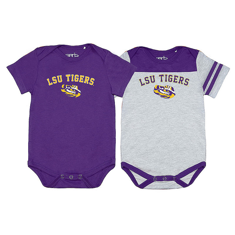LSU Tigers Infant Onesie 2 Pack