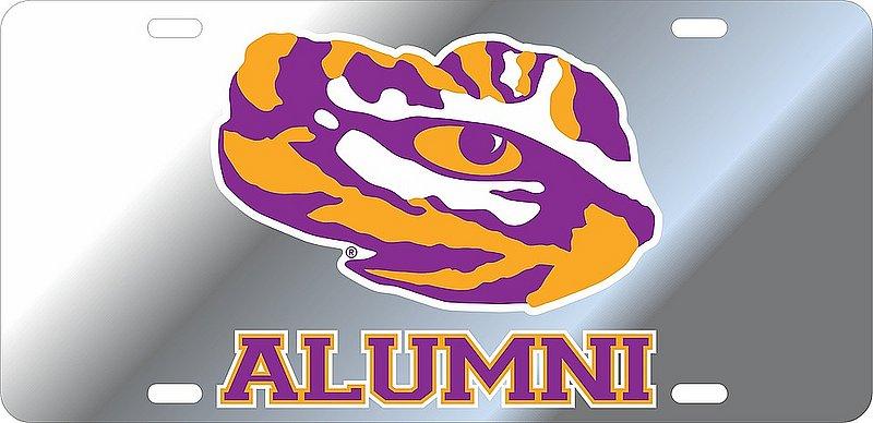 LSU Tigers License Plate Alumni 37461