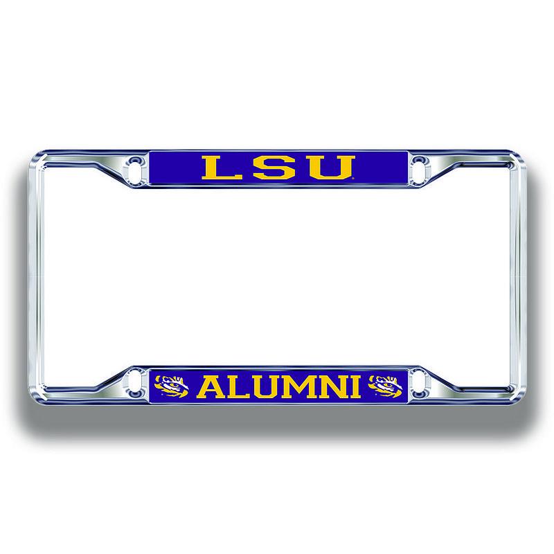 LSU Tigers License Plate Frame Alumni 37439