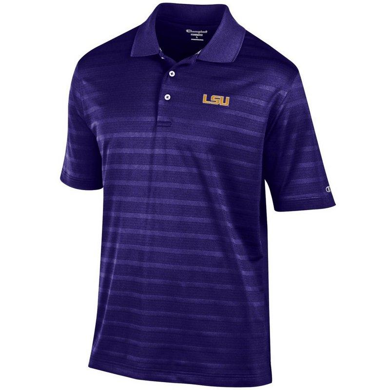 LSU Tigers Polo Shirt Purple aec03267322
