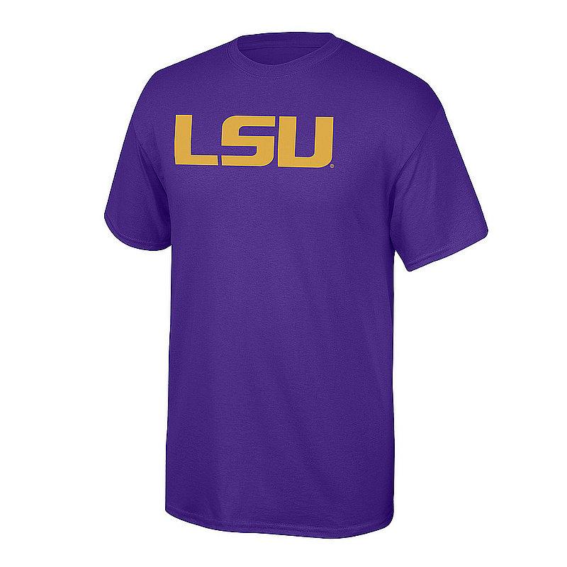 LSU Tigers Tshirt Purple Icon