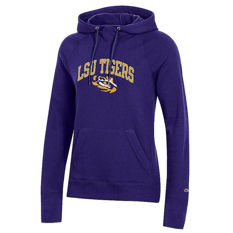 LSU Tigers Women's Hooded Sweatshirt Varsity Purple APC03324880