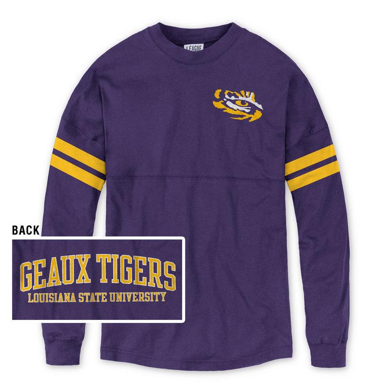 LSU Tigers Women's Long Sleeve Tshirt Purple
