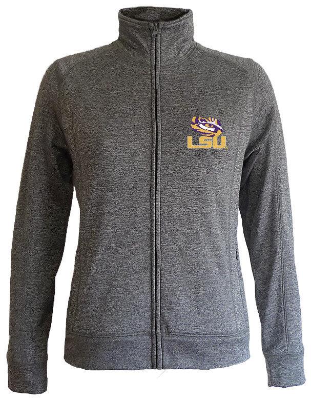 LSU Tigers Women's Slim Full Zip Jacket LSUFT558
