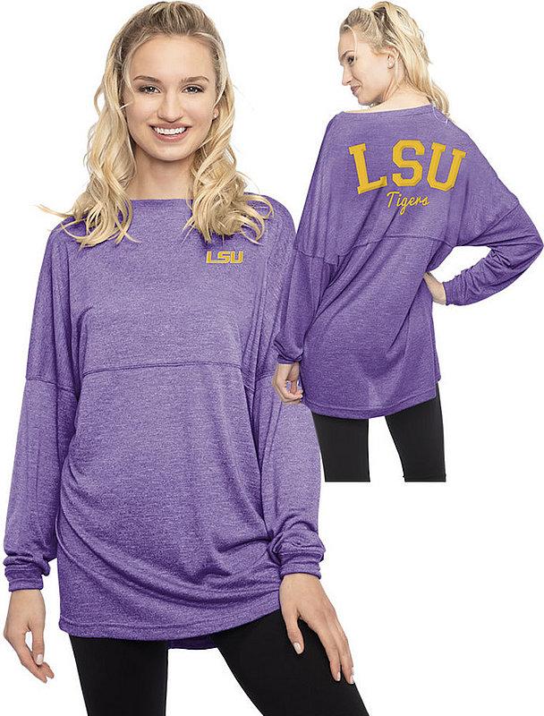 LSU Tigers Womens Varsity Jersey Purple 8200-14-LA215