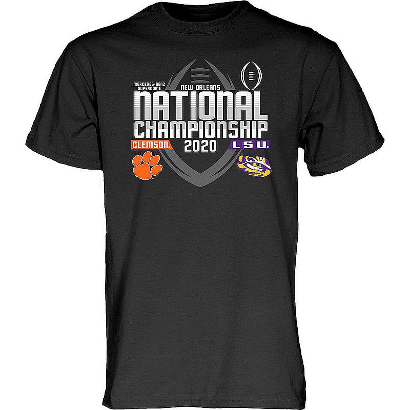 LSU vs Clemson National Championship Champs Tshirt 2019-2020 Championship