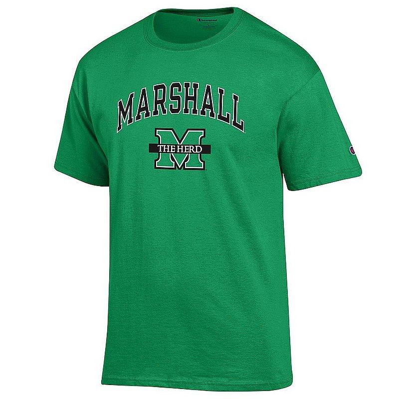 Marshall Thundering Herd TShirt Arch Green APC03001086
