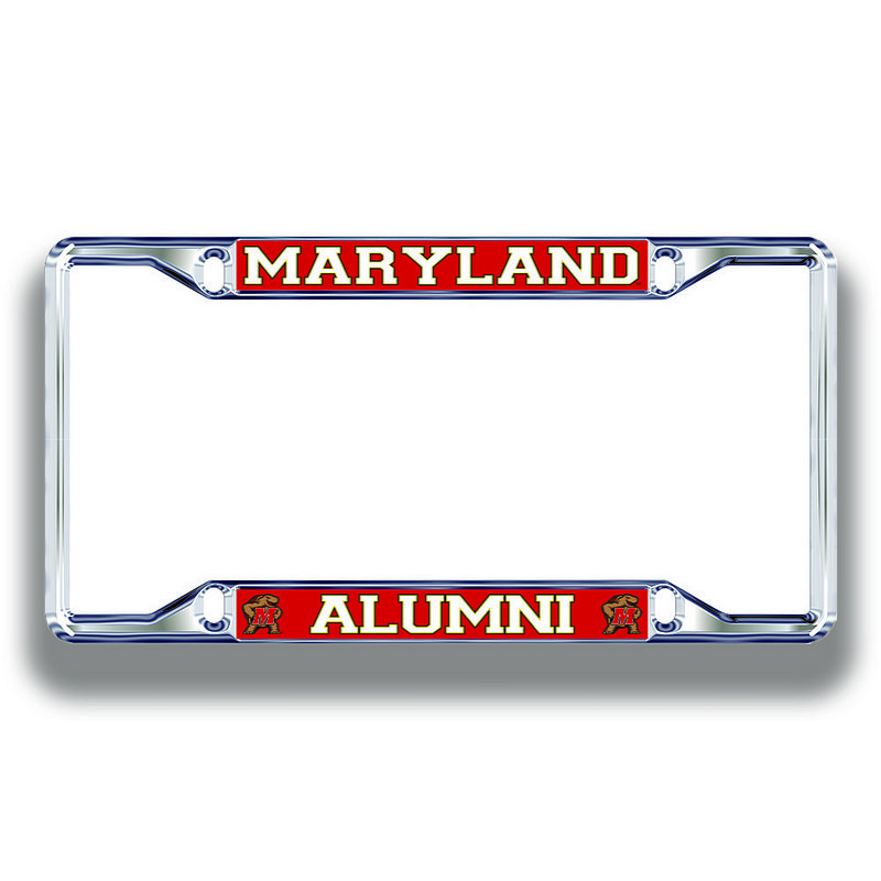 Maryland Terrapins License Plate Frame Alumni 37665