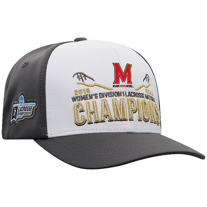 Maryland Terrapins Women's National Lacrosse Championship Hat 2019 NCAAW-D1LC-19C-BA2