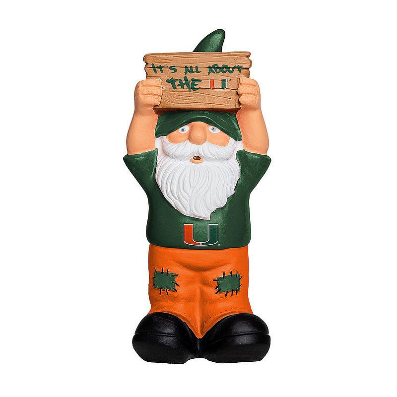 Miami Hurricanes Garden Gnome GN8NCSLOSIGNUM