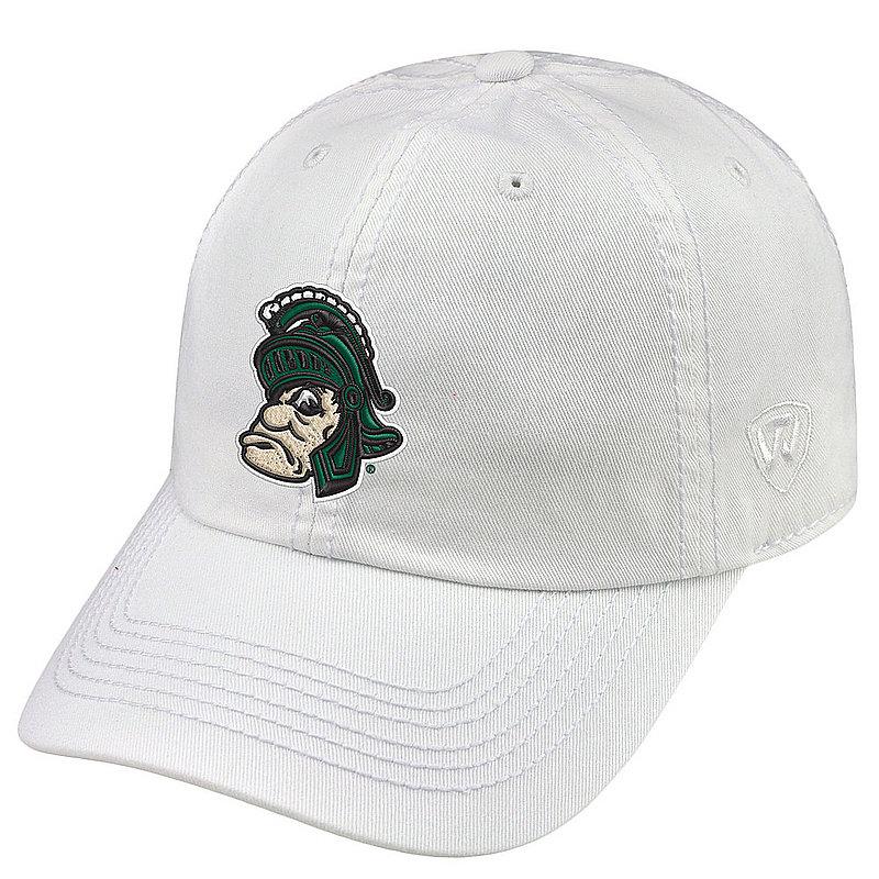Michigan State Spartans Hat Retro White CHAMP-MIST-ADJ-WHT4