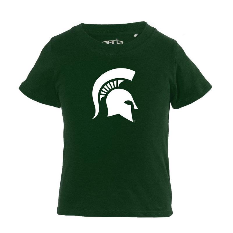 Michigan State Spartans Infant TShirt Green TONI-I-DKGREEN-MICHST