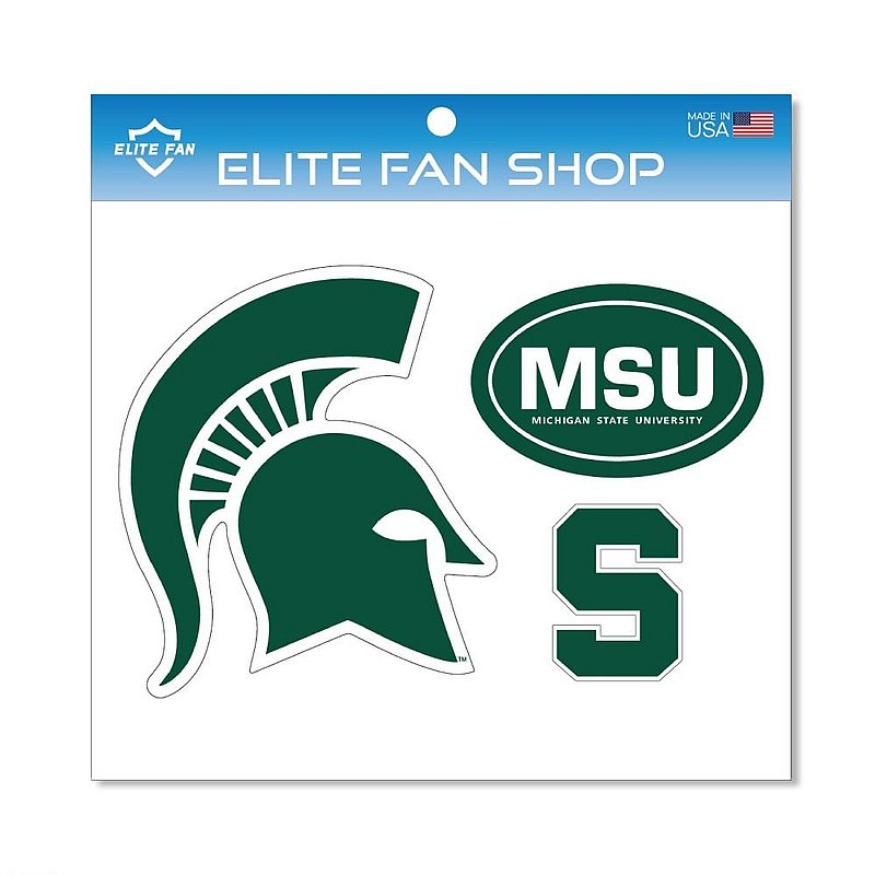 Michigan State Spartans Magnet 3-Pack