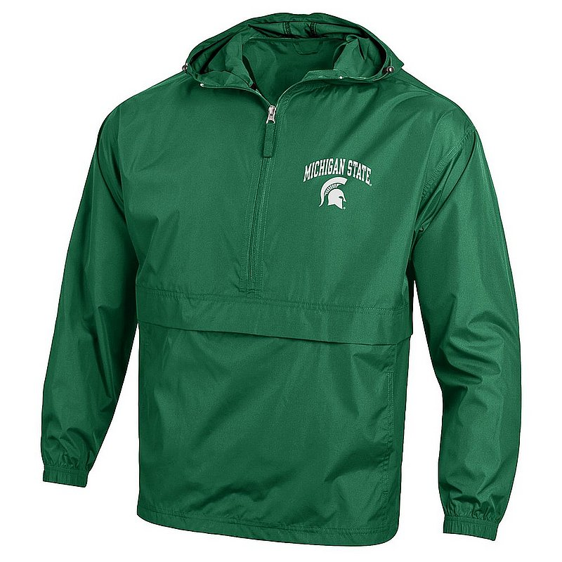 Michigan State Spartans Packable Jacket Green APC02983682