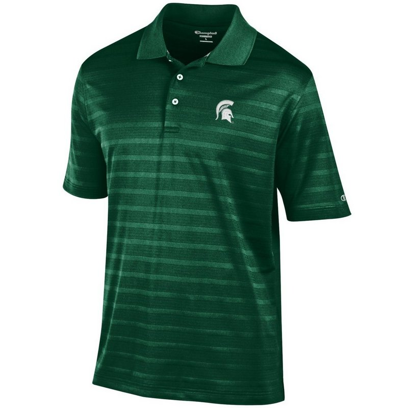 Michigan State Spartans Polo Shirt Green