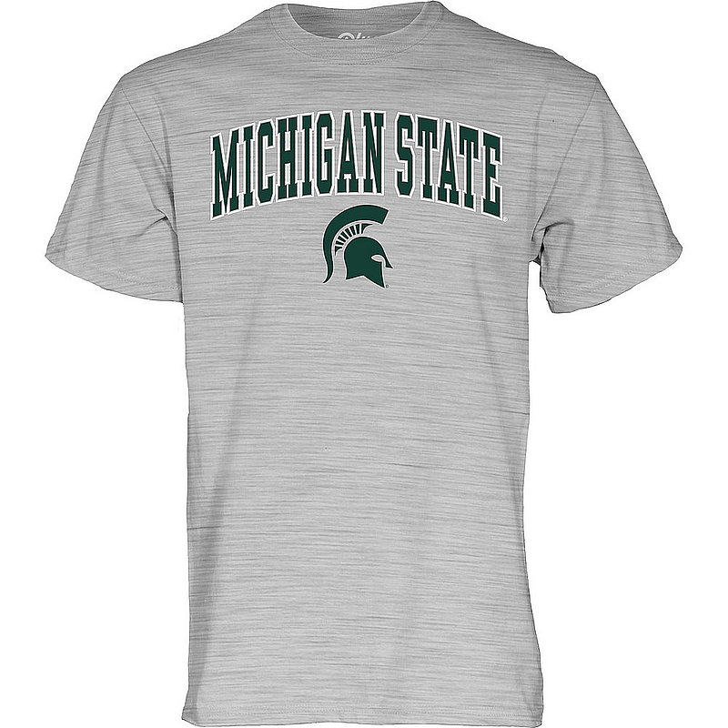 Michigan State Spartans TShirt Varsity Gray Arch Over 00000000BCRD7