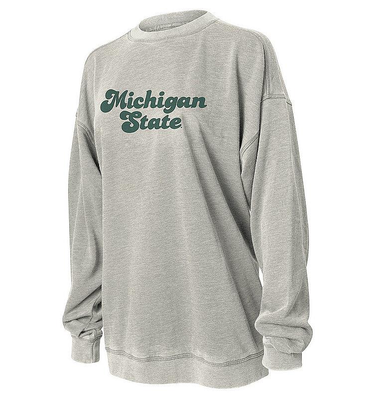 Michigan State Spartans Women's Crewneck Sweatshirt 449-46-MG536
