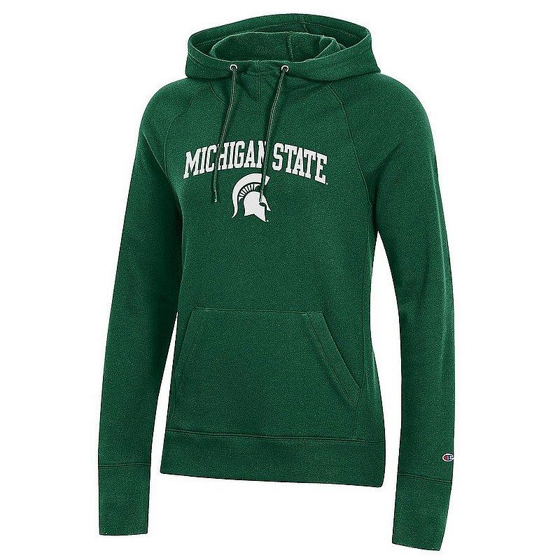 Michigan State Spartans Women's Hooded Sweatshirt Green APC03050478