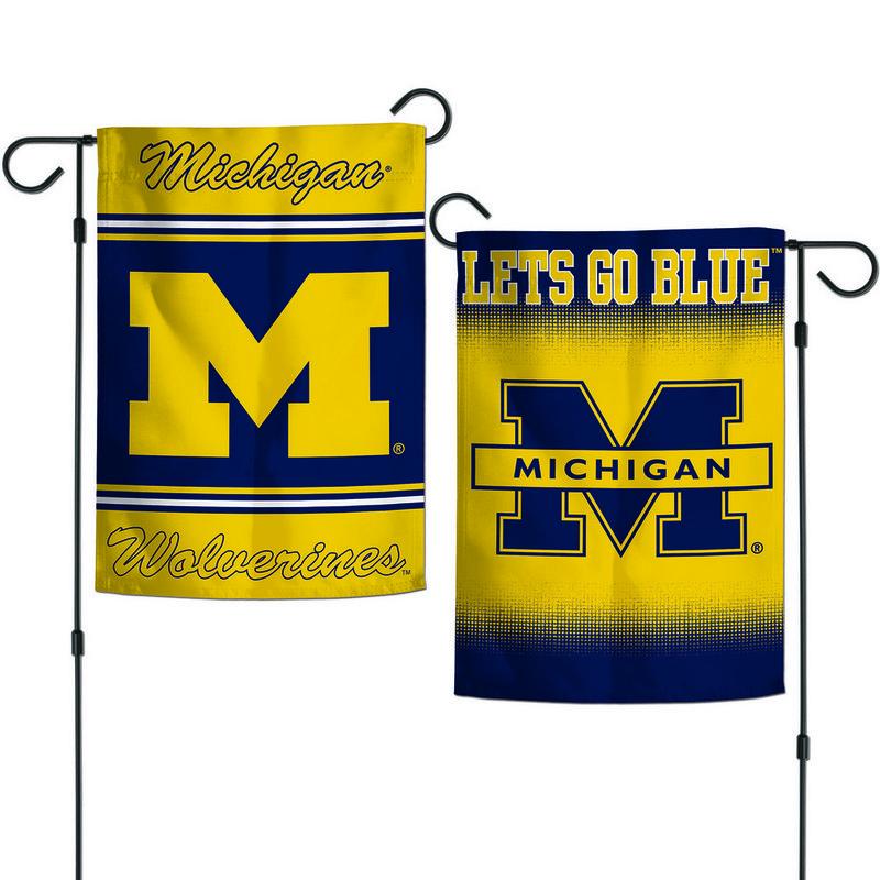 """Michigan Wolverines Garden Flag 12.5""""x18"""""""
