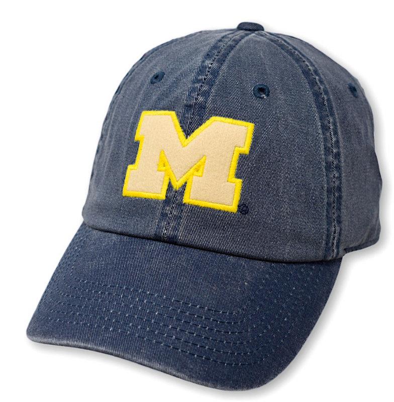 Michigan Wolverines Hat Vintage Blue DPAT-MI-ADJ-TMC6