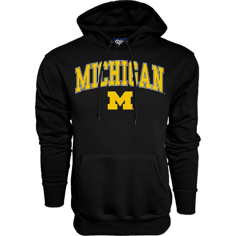 Michigan Wolverines Hoodie Sweatshirt Varsity Black 00000000BCRB5