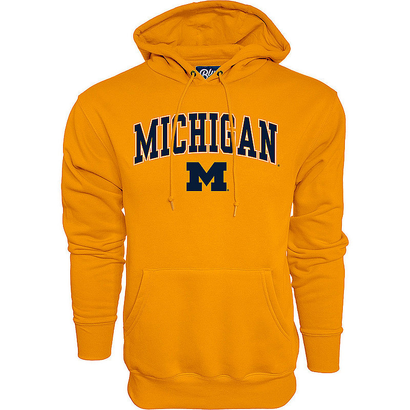 Michigan Wolverines Hoodie Sweatshirt Varsity Maize APC02845656