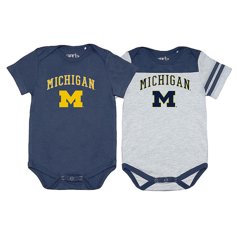 Michigan Wolverines Infant Onesie 2 Pack