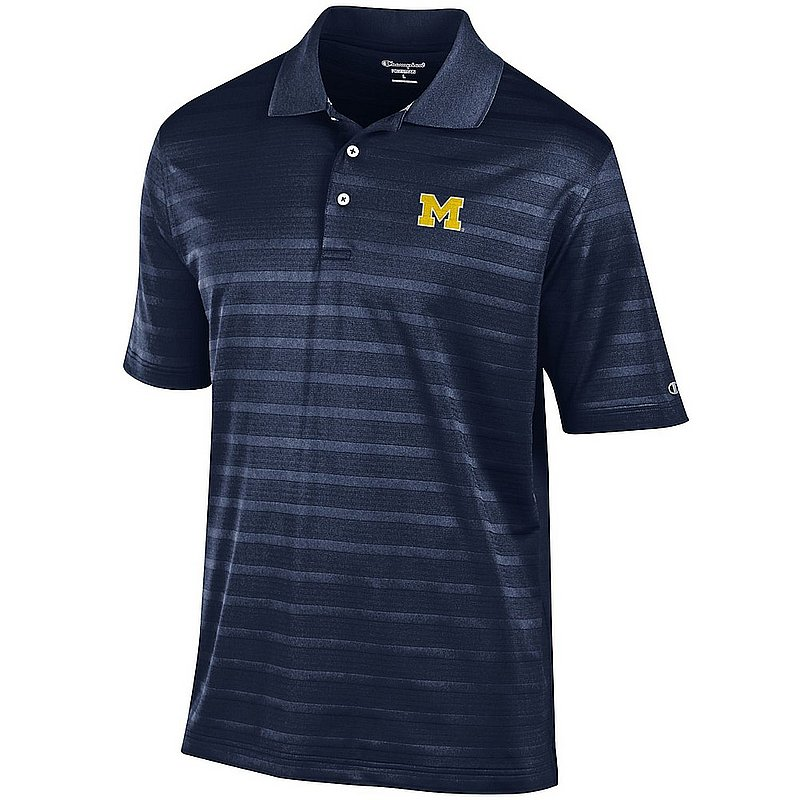 Michigan Wolverines Polo Shirt Navy AEC02961898