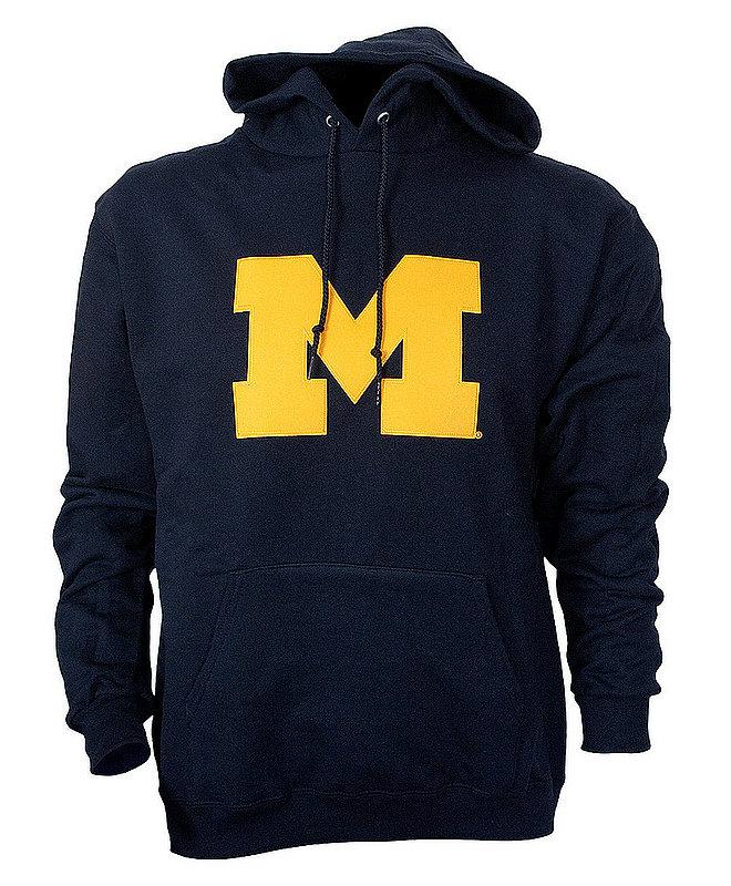 Michigan Wolverines Tackle Twill Sweatshirt Score Navy AEC03197449
