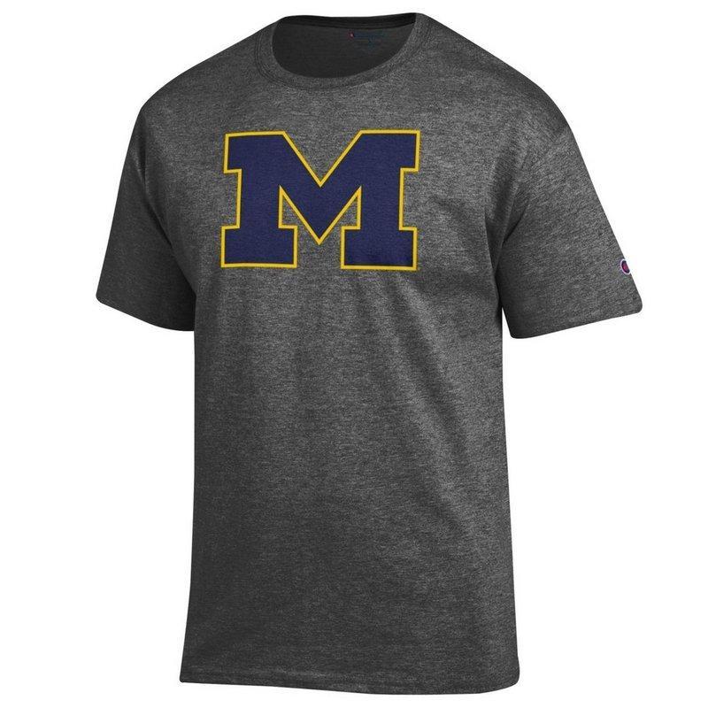 Michigan Wolverines TShirt Charcoal APC02867872