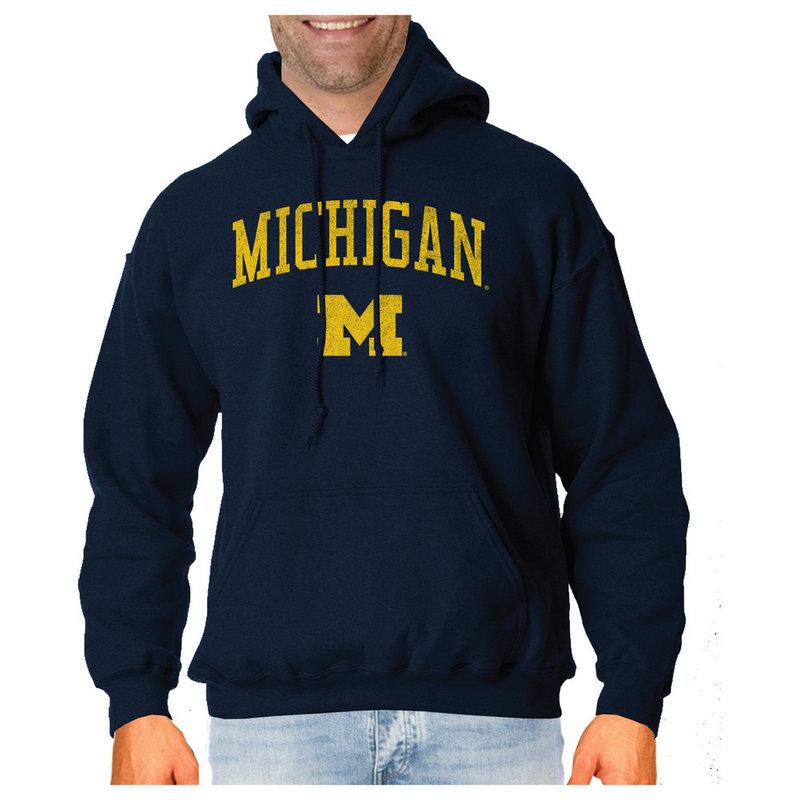 bcf389251 Michigan Wolverines Hoodie Sweatshirt Gray MVE0T_CP1121 53I
