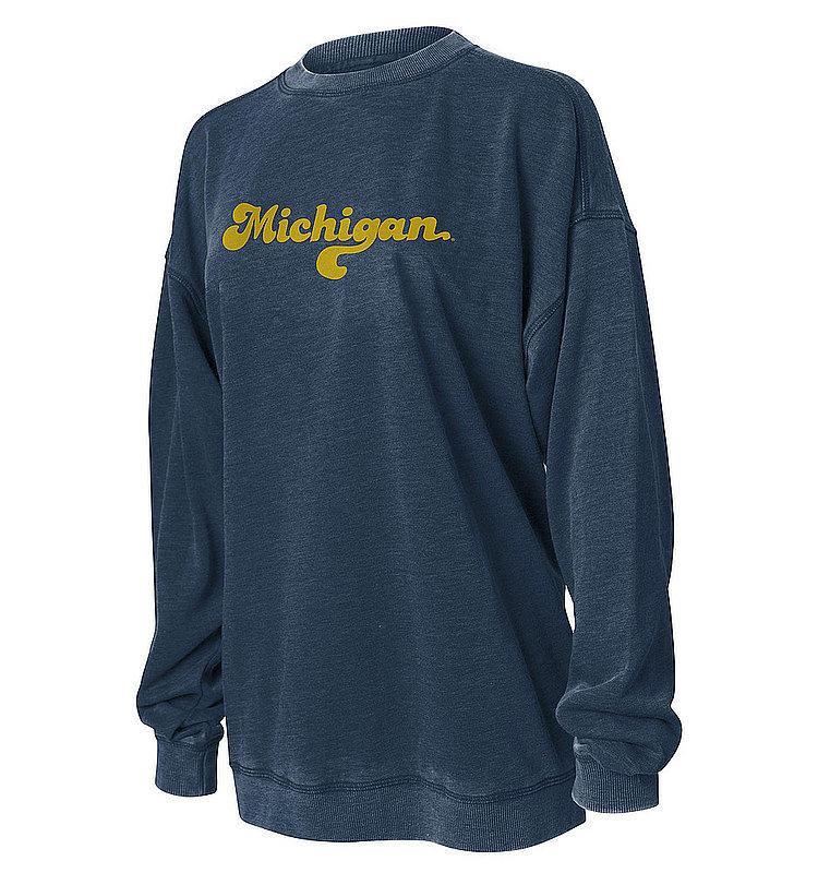 Michigan Wolverines Women's Crewneck Sweatshirt 449-38-UM534